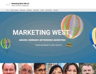 marketingwest.co.uk screenshot