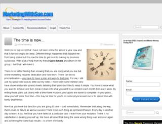 marketingwithsue.com screenshot