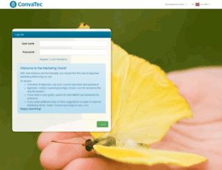 marketingworld.convatec.com screenshot