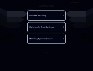 marketingworld.in screenshot