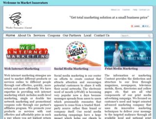 marketinnovators.co.uk screenshot