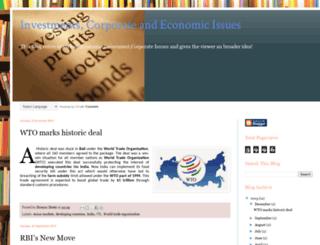 marketissues.blogspot.in screenshot