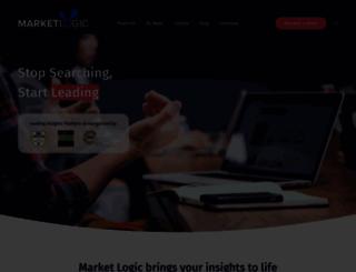 marketlogicsoftware.com screenshot