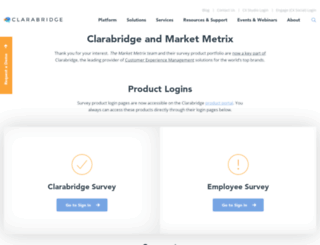 marketmetrix.com screenshot
