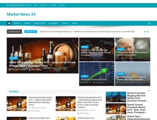 marketnews24.com screenshot