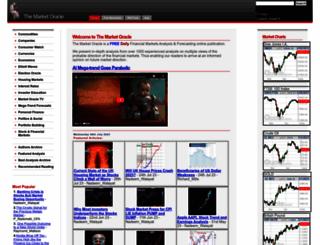 marketoracle.co.uk screenshot