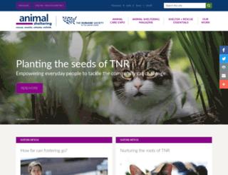 marketplace.animalsheltering.org screenshot
