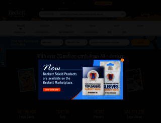 marketplace.beckett.com screenshot