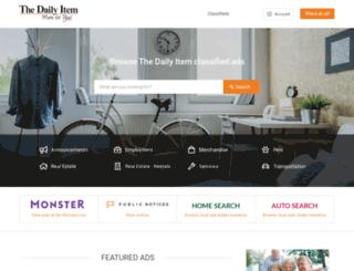 marketplace.dailyitem.com screenshot