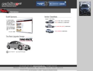marketplace.evolutionm.net screenshot
