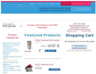 marketplace.gfwc.org screenshot