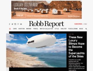 marketplace.robbreport.com screenshot