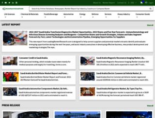 marketreportsonsaudiarabia.com screenshot