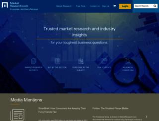 marketresearch.com screenshot