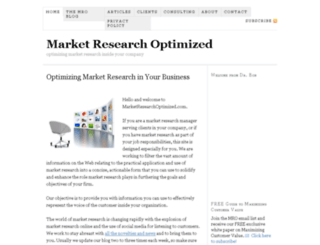 marketresearchoptimized.com screenshot