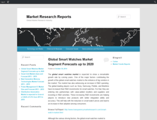 marketresearchreport.edublogs.org screenshot
