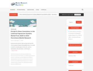 marketresearchreports.biz screenshot