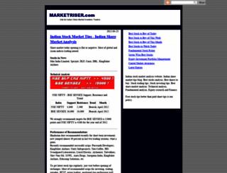 marketriser.blogspot.com screenshot