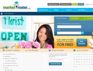 marketroster.com screenshot