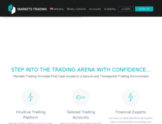markets-trading.com screenshot