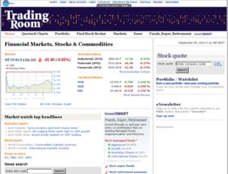markets.businessday.com.au screenshot