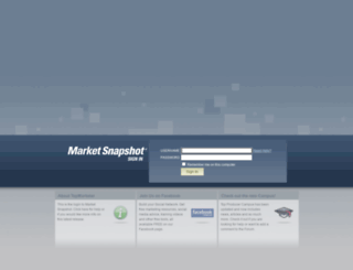 marketsnapshot.info screenshot
