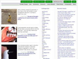 marketspace.thinktosustain.com screenshot