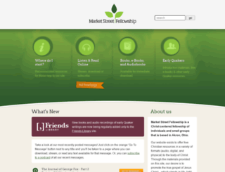 marketstreetfellowship.com screenshot