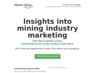 markettomining.com screenshot