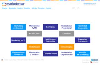 marketwise.com.ar screenshot