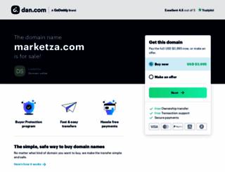 marketza.com screenshot