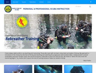 markfowlerscuba.com screenshot