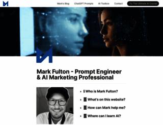 markfulton.com screenshot