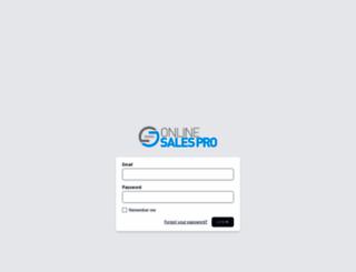 markgibbons.onlinesalespro.com screenshot