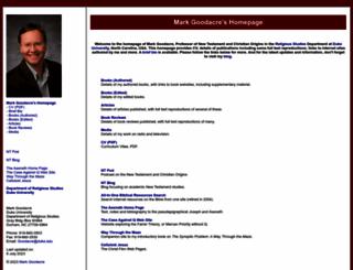 markgoodacre.org screenshot