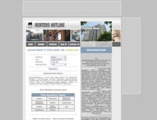 markham.rentershotline.ca screenshot