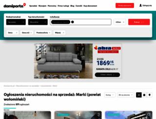 marki.domiporta.pl screenshot