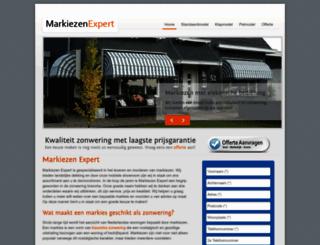 markiezen-expert.nl screenshot