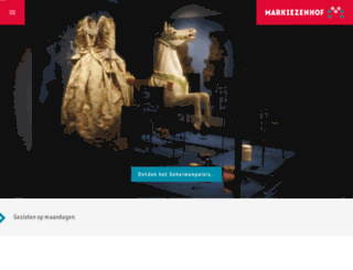 markiezenhof.nl screenshot