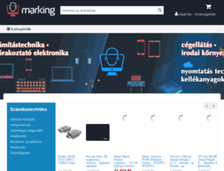 marking.hu screenshot