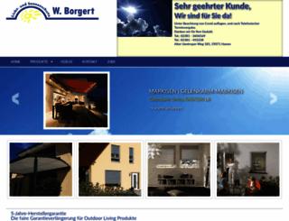 markisen-borgert.de screenshot