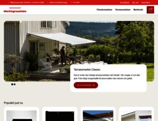 markisgrossisten.se screenshot
