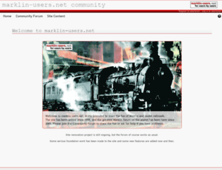 marklin-users.net screenshot