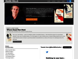 markmills.org.uk screenshot
