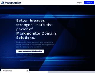 markmonitor.com screenshot