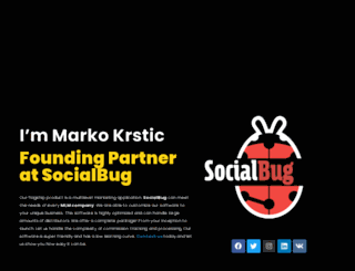 markokrstic.rs screenshot