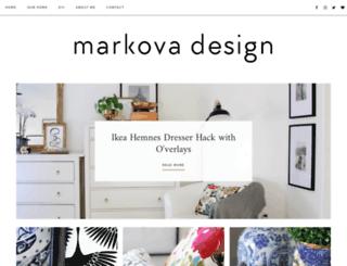 markovadesign.com screenshot