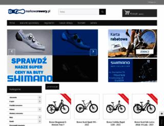 markowerowery.pl screenshot