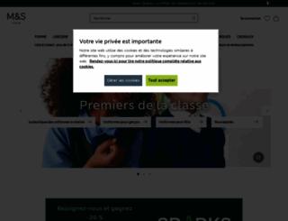 marksandspencer.fr screenshot