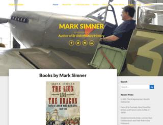 marksimner.me.uk screenshot